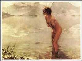 September Morn ( Paul Chabas )